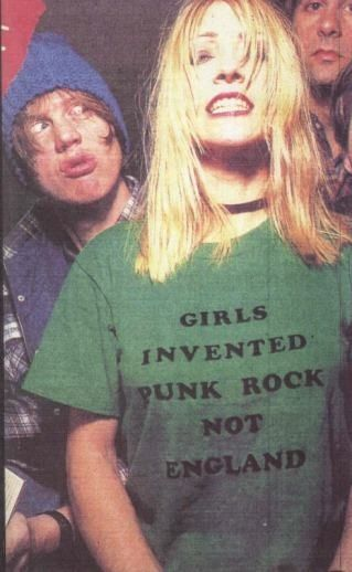"Kim Gordon with Sonic Youth: ""GIRLS INVENTED PUNK ROCK NOT ENGLAND"""