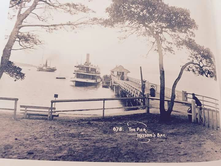 The Pier on Sydney Harbour at Watsons Bay, Sydney (Photo undated). v@e.