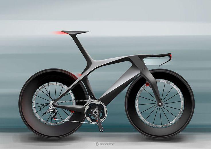 Scott concept time trial bike by Julien Delcambre