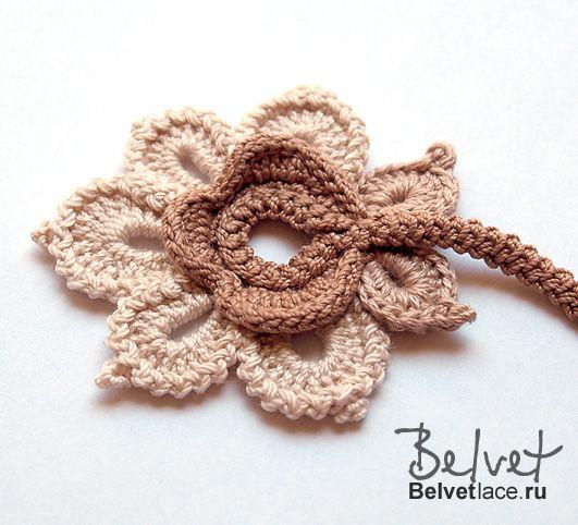 Irish Crochet pattern from Belvet…