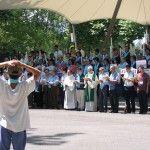 Pèlerinage des vietnamiens catholiques
