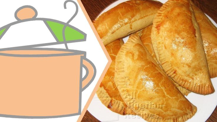 How to Make Nigerian Meat Pie | All Nigerian Recipes - YouTube