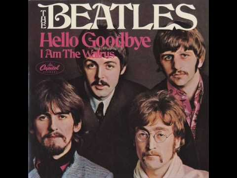 The Beatles, Hello Goodbye. three weeks at # 1. 1967 and 1968.  Fun song, loved it as a little girl!