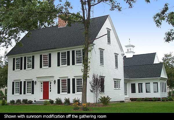 Red Door Homes Floor Plans: Colonial Floor Plan
