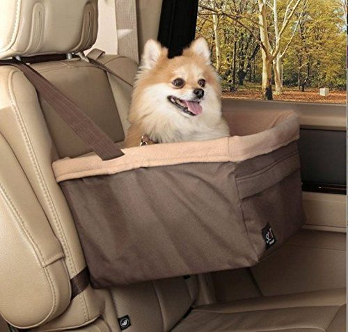 Domestic Pet Dog Car Seats Medium Pet Booster Seat Natural >>> Check this useful article by going to the link at the image. #DogCarriersTravelProducts