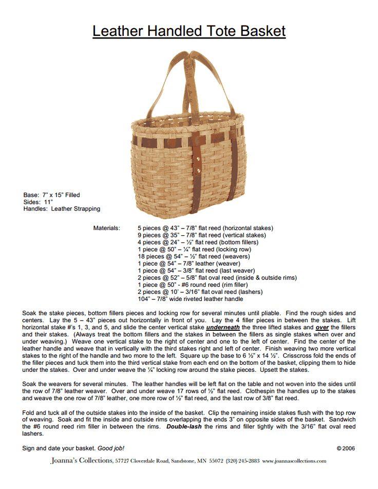 81 best Basket Weaving images on Pinterest | Basket weaving, Basket ...
