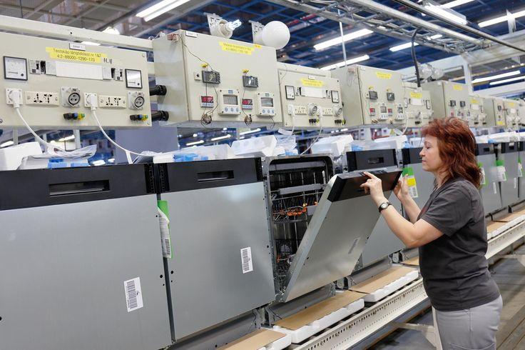 W Velenje ruszyła produkcja zmywarek marki Gorenje. - Gorenje