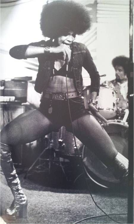 icon! betty davis rocking out   kambui:    Happy Birthday, Betty Davis!