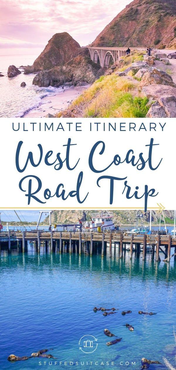 Ultimate West Coast Road Trip on the California Coast