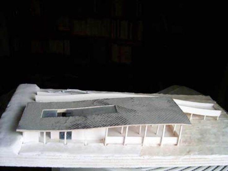 Martinez - Almascien - Studio Bolivariano di architettura  · Portico Pontile In Legno : Plastico