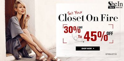 Sweet: Great discounts to Sheine