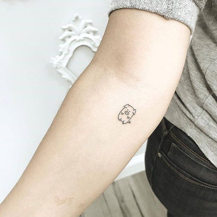101 Tiny Animal Tattoo Designs for Men and Women #animal tattoos #tattoos – Lovely Animals World – #Animal #Animals #a