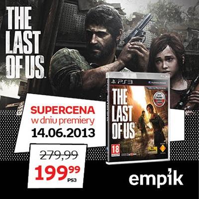 """To jedna z najbardziej oczekiwanych premier tego roku! Epicka opowieść o przetrwaniu i podróży dwójki bohaterów przez postapokaliptyczny krajobraz… """"The Last Of Us"""" 14 czerwca u nas w supercenie 199, 99 zł!"""
