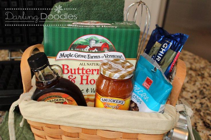 Syrupdippity Gift Basket Fun Gift Basket For A Bridal