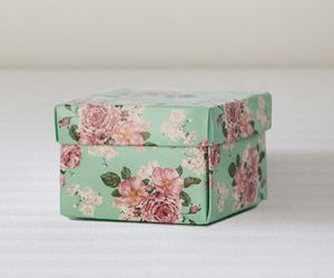 Floral Print Favour Box pack of 6