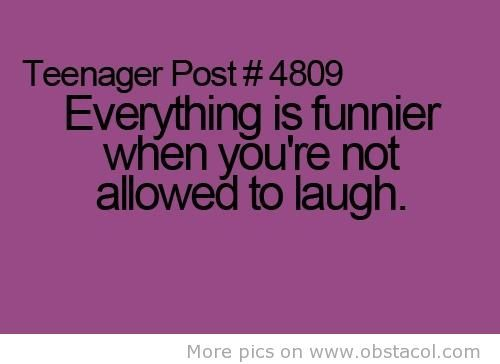 And then you just burst out and the teachers like, thats not Funny!  So you say I know, and Keep laughing in your mind: Funnies Pictures, Sotrue, Funnies Quotes, So True, Teenagers Posts, Funnies Images, Teens Posts, Funnies Stuff, True Stories