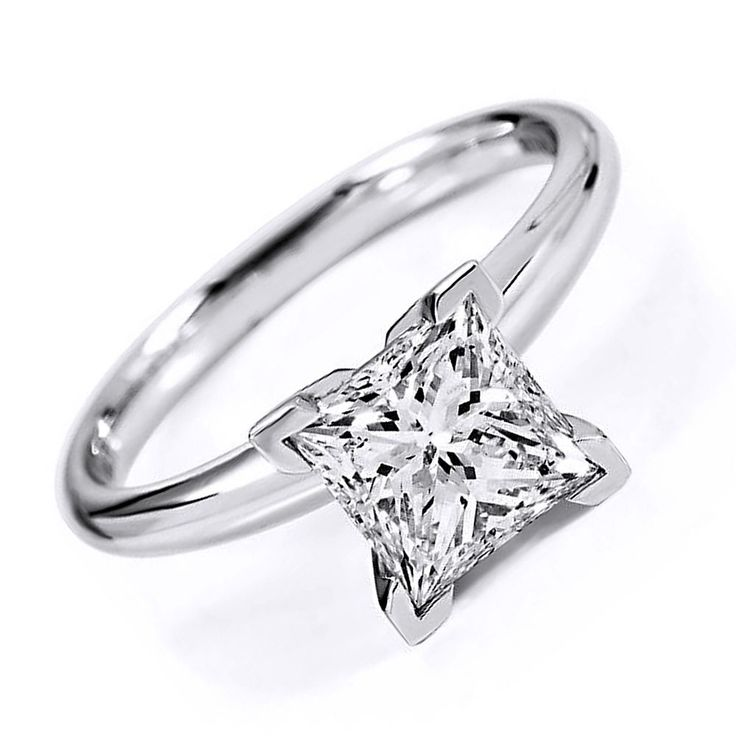 2.5CT D/VVS1 SOLITAIRE ENGAGEMENT RING ROUND CUT  10K WHITE GOLD Bridal Jewelry #AffynityHomeshopping #Solitaire