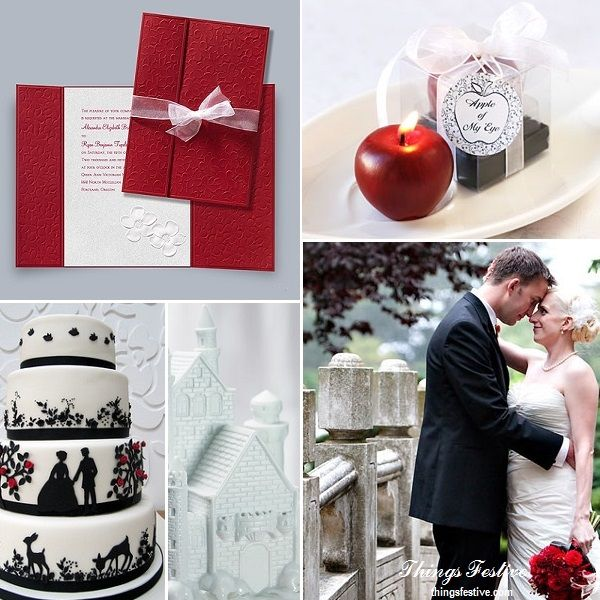Fairy Tale Wedding Inspiration - The Legend of Snow White  #wedding #fairytalewedding #fairytaleweddinginvitations #disneywedding