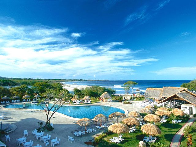 Costa Rica- The Occidental Tamarindo is ideal for families or couples on a romantic getaway, boasting the convenience of an all-inclusive plan and offering a wide variety of activities from relaxation to adventure and surfing.