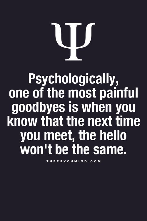 "I strongly disagree this one  I think the last goodbye to our love ones is the most painful cause there won't be anymore hello   People change ,everything change matter of fact, so , even the ""hello"" won't be the same, what a big fucking deal?"