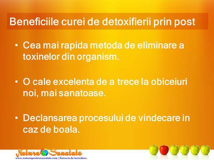 Beneficiile #dietei de #detoxifiere prin #post.--> http://naturapentrusanatate.com/dieta-de-detoxifiere-prin-post-beneficiile-acesteia-pentru-sanatate/