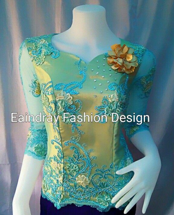Myanmar lace blouse