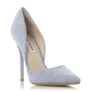 STEVE MADDEN VARCITYY SM - Open Side Pointed Toe Court Shoe - blue | Dune Shoes Online