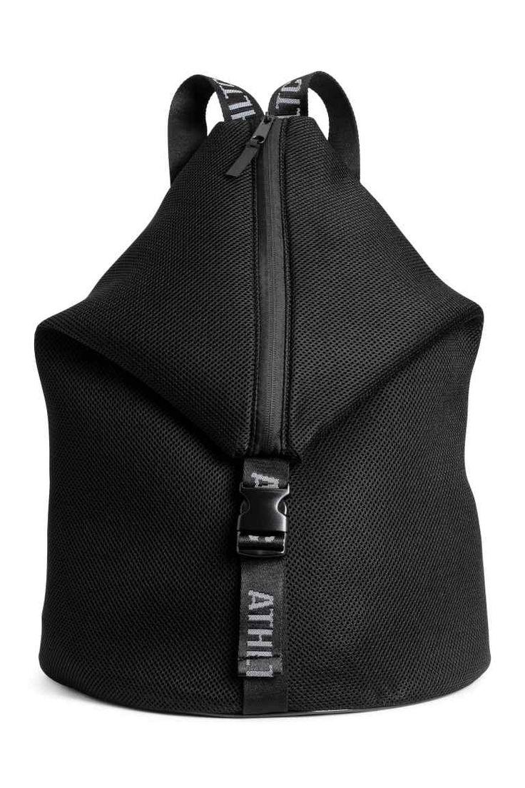 Rugzak van mesh - Zwart - DAMES   H&M NL 1
