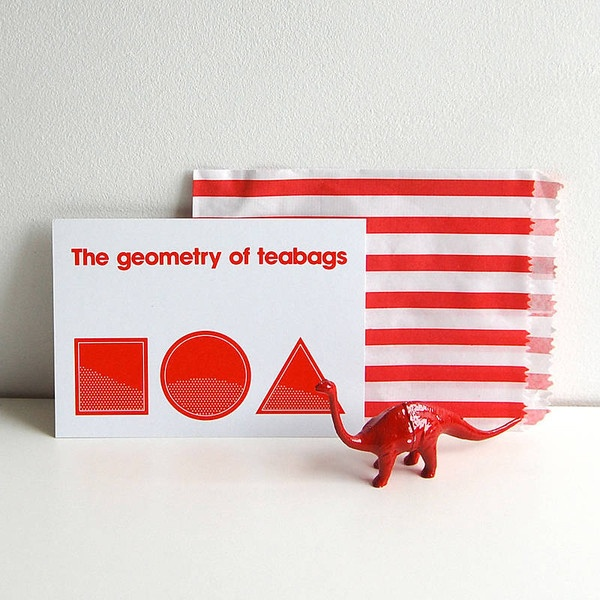 The Geometry Of Teabags Postcard — Polar