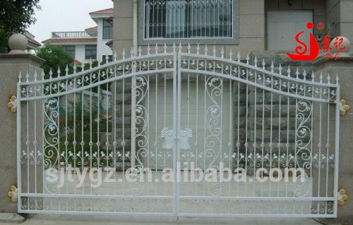 Look what I found Via Alibaba.com App: - Economical & practical wrought iron main gate iron gate designs for house decoration
