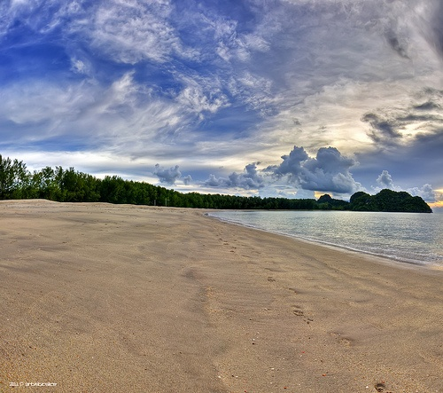 """the perfect sky""  Location: Langkawi, Malaysia"