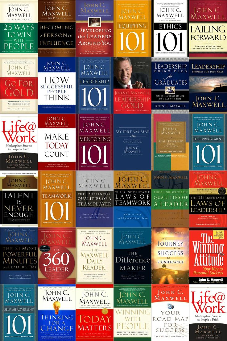 John Maxwell: GREAT books on LEADERSHIP - John Maxwell is the Leadership Trainer for my Mentorship Group. If YOU want to learn, grow with great mentorship give me a call. We look for people who want to make a difference, to impact lives.
