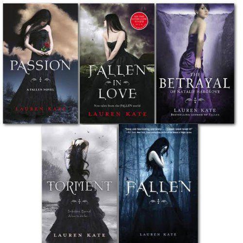 Lauren Kate collection 5 Books set. (Passion, Fallen, Torment, the betrayal o... null http://www.amazon.it/dp/B008DEYYSE/ref=cm_sw_r_pi_dp_8VvDvb1PVKBJM