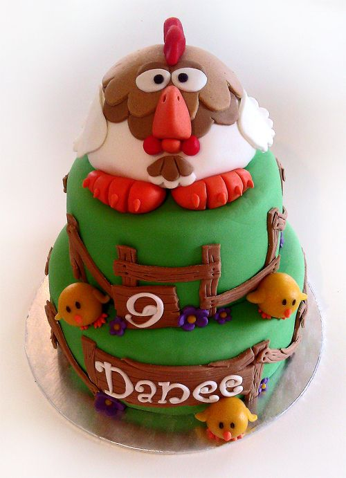 Cake Art Netherlands : Chicken Cake :D animal: chicken...rooster...hen ...