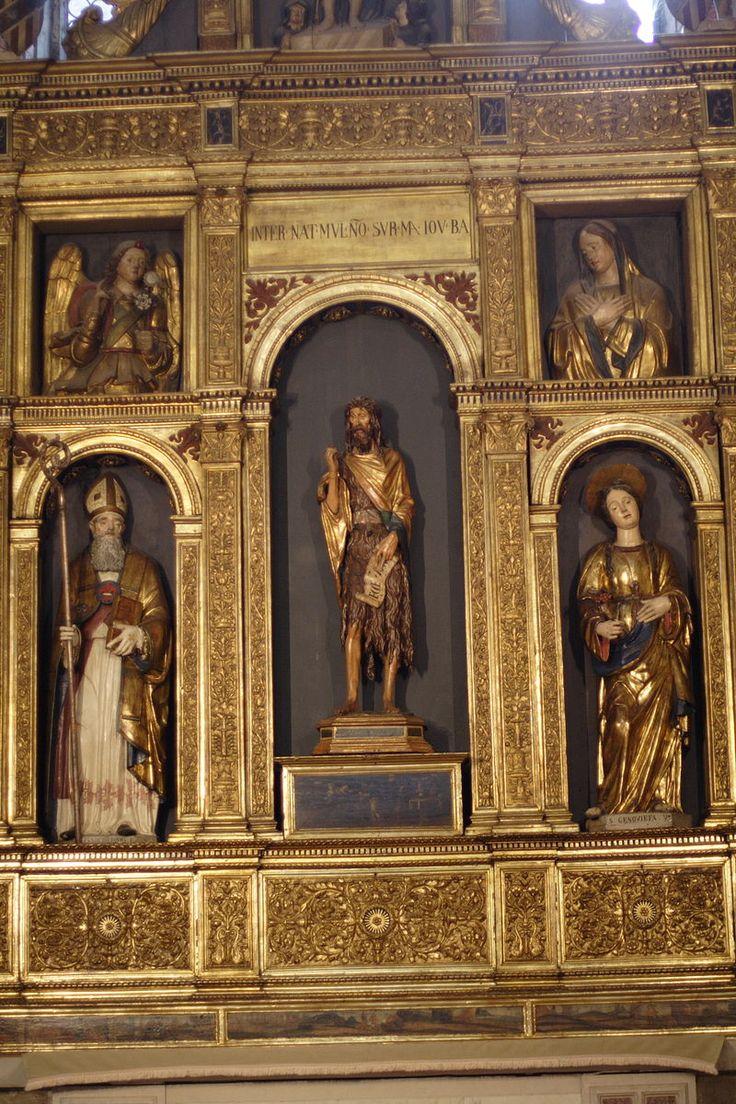 Венеция. Санта-Мария_Глориоза_деи_Фрари. Basilica di Santa Maria Gloriosa dei Frari - St John the Baptist (Donatello).