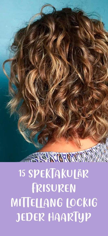 24+ Lockige frisuren mittellang die Info
