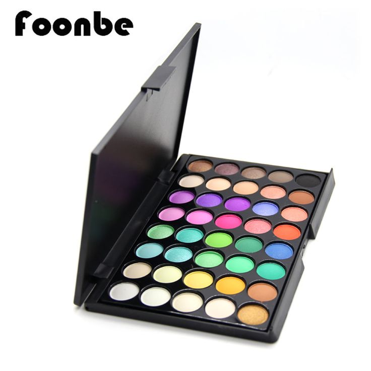Find More Eye Shadow Information about New Makeup Palette 40 Colors Eyeshadow With Eye Primer Glitter Eye shadow Matte Naked Palette Makeup Cosmetics Professional,High Quality colors eyeshadow,China naked palette Suppliers, Cheap nake palette makeup from ShenZhen Foonbe Cosmetic Co.,Ltd. Store on Aliexpress.com