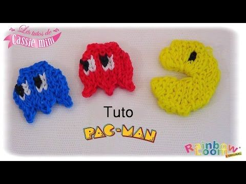 { Tuto } Pac-Man en élastique Rainbow Loom - YouTube