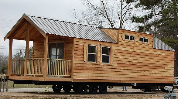 Cabin Style Mobile Home Cabin On Wheels Airstream
