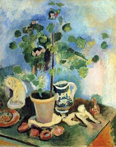 nature morte - (Henri Matisse)                                                                                                                                                      Plus