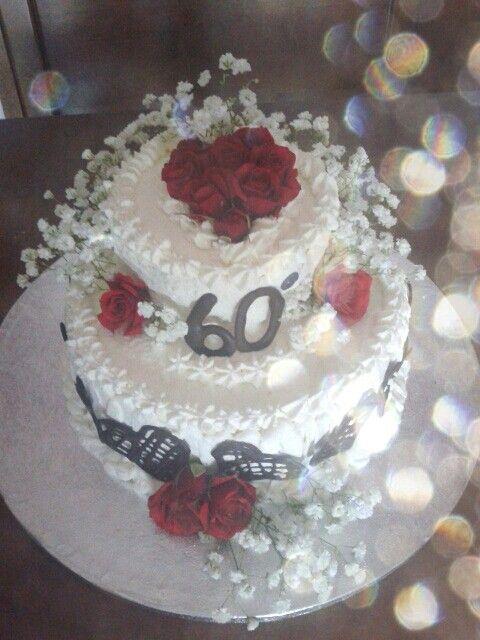 Torta per 60° anniversario