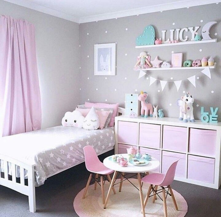 For A Little Girls Bedroom This Is Goalss😍
