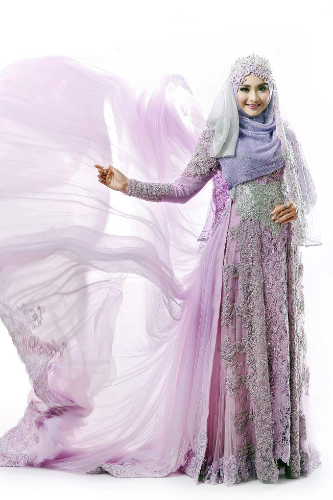 Koleksi Kebaya Resepsi Muslimah by LAKSMI 0817 0370 7670 by LAKSMI