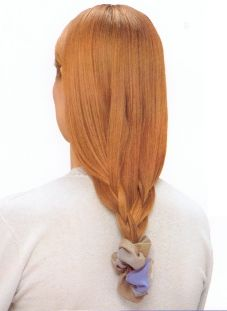 Basket-Weave Braid    without the scrunchie please