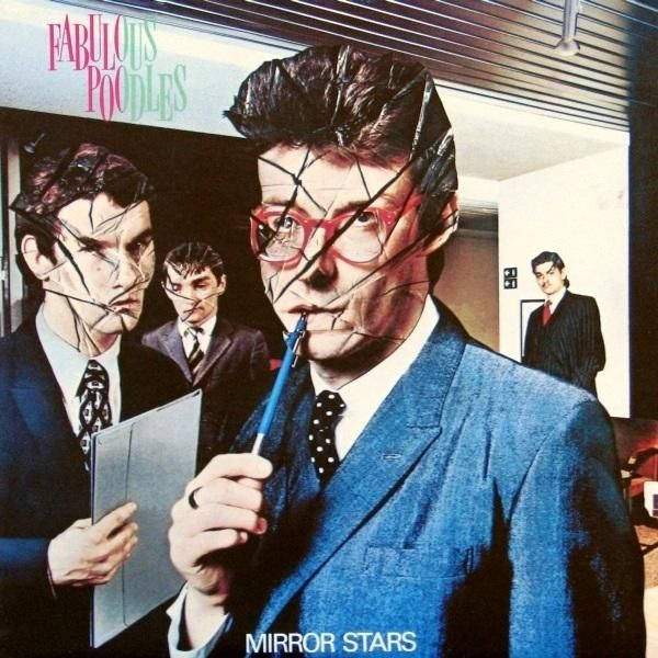Fabulous Poodles album cover by Hipgnosis & Storm Thorgerson (Unsuitable, 1978).