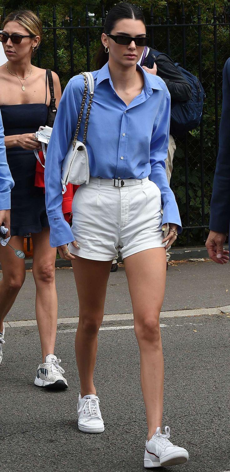 Kendall Jenner at Wimbledon Tennis Championships 2019 in London 07/14/2019.