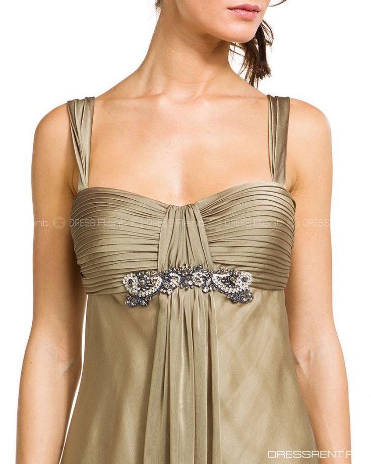 Платье - Js Collections   Gold Long Dress