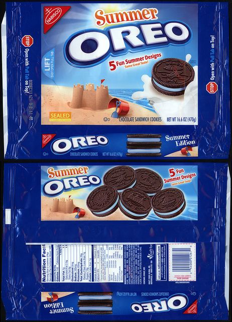 Nabisco packages | Nabisco - Oreo - Summer - cookie package - 2011 | Flickr - Photo ...