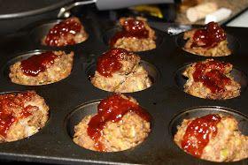 Meatload Muffins - Rachel Ray