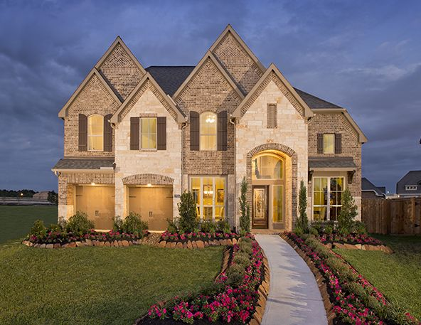 Delightful Perry Homes   Cypress Creek Lakes   Model Home Design 3547W   Cypress, TX #